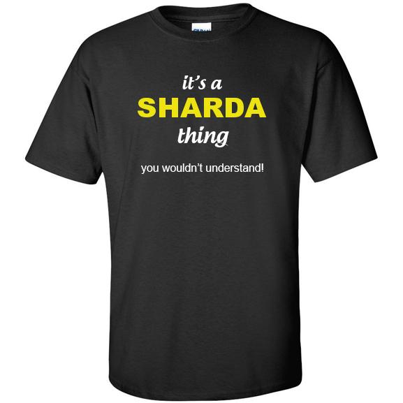 t-shirt for Sharda