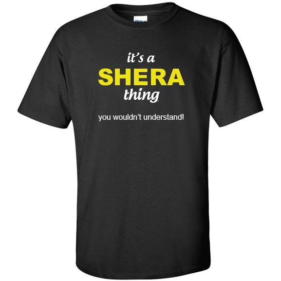t-shirt for Shera