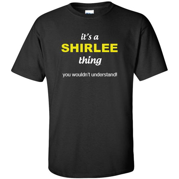 t-shirt for Shirlee