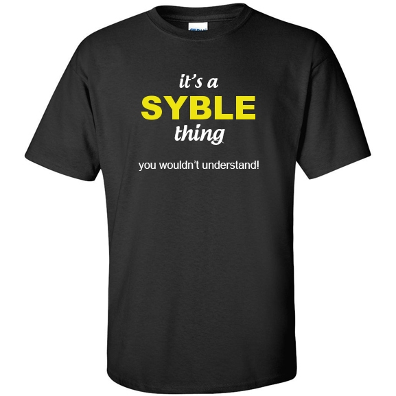t-shirt for Syble