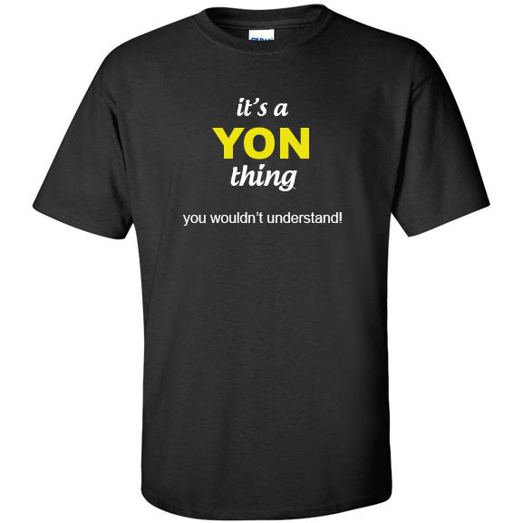 t-shirt for Yon