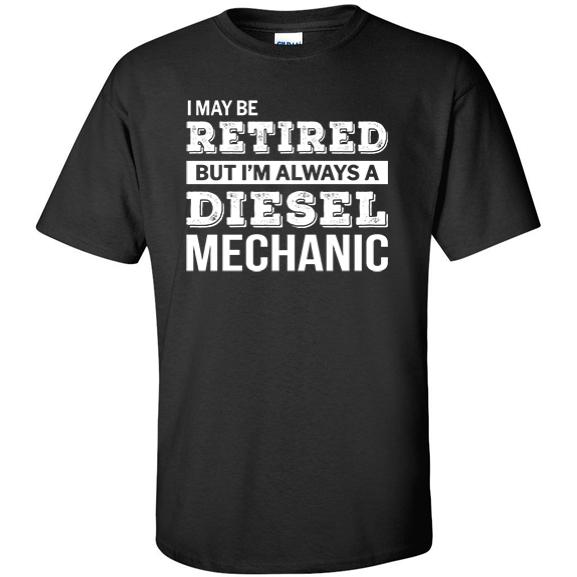 Retired Diesel Mechanic