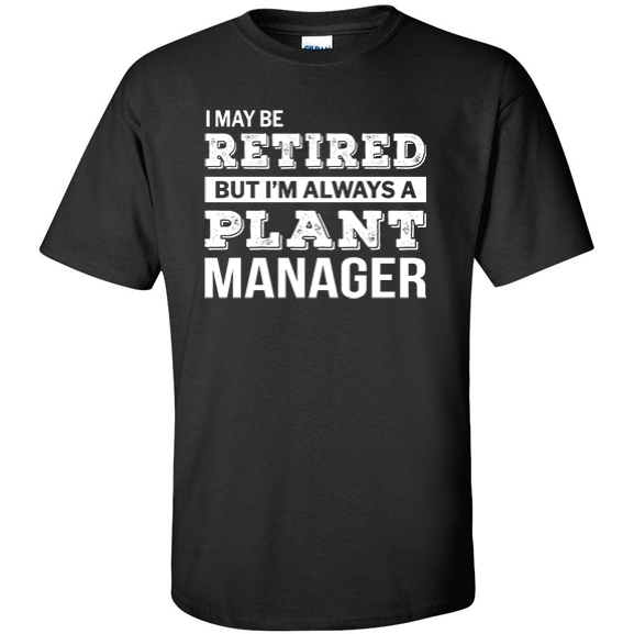 Retired Plant Manager