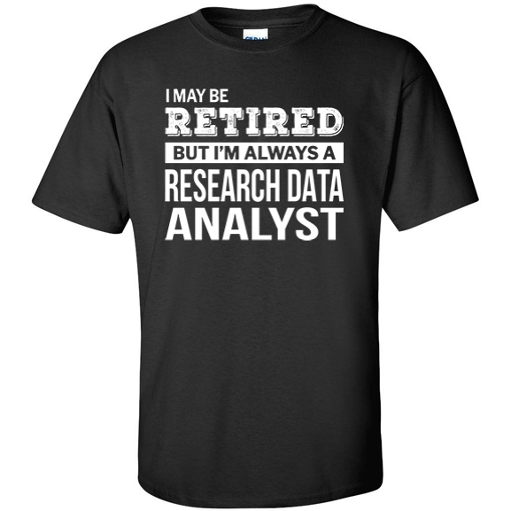 Retired Research Data Analyst