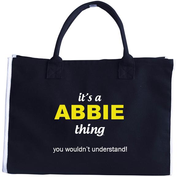 Fashion Tote Bag for Abbie