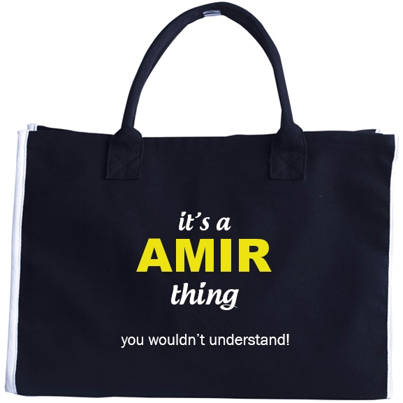 Fashion Tote Bag for Amir