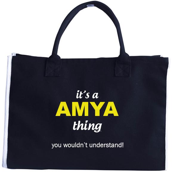 Fashion Tote Bag for Amya