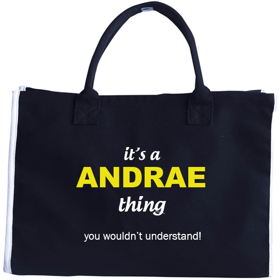 Fashion Tote Bag for Andrae