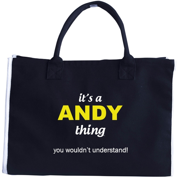 Fashion Tote Bag for Andy
