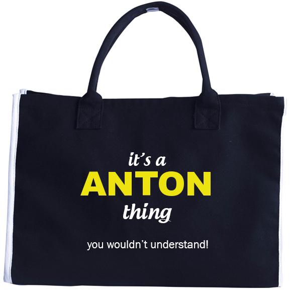 Fashion Tote Bag for Anton