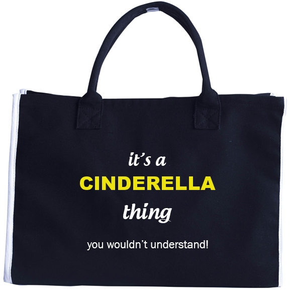 Fashion Tote Bag for Cinderella