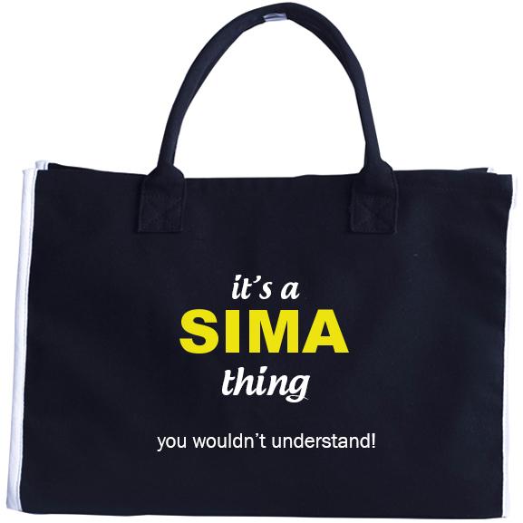 Fashion Tote Bag for Sima